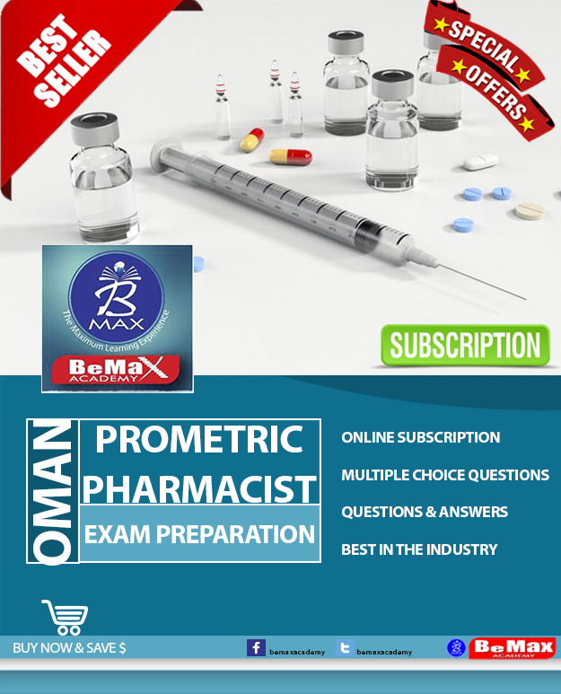 oman prometric pharmacist exam
