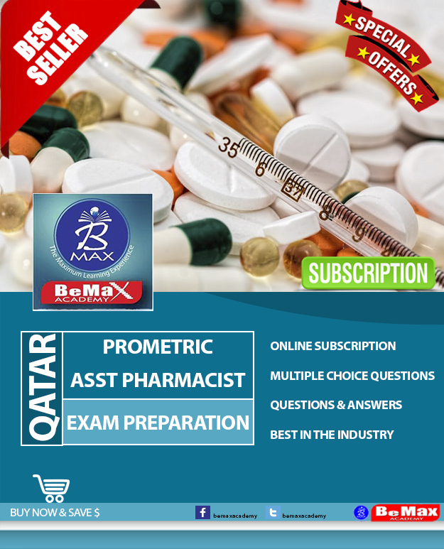 QATAR PROMETRIC ASSISTANT PHARMACIST EXAM